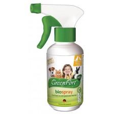GreenFort neo BioSpray - натурален, противопаразитен спрей за котки, кучета, зайци и гризачи - 200 мл, Русия G207