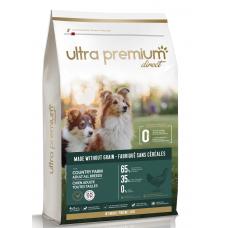Ultra Premium Direct Country farm Adult all breeds - суха храна за пораснали кучета от всички породи, без зърно, 65% месо и месни съставки, пиле и прасе, 12 кг, Франция GF1201