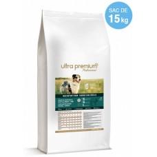 Ultra Premium Direct Original Adult all breeds - суха храна за пораснали кучета от всички породи, без зърно, 65% месо и месни съставки от домашни птици и прасе, 15 кг - Франция, GF1503