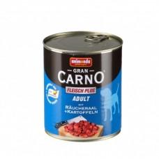 Gran Carno Plus пушена змиорка + картофи - храна за израстнали кучета