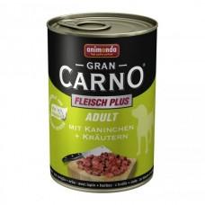Gran Carno Plus заек + билки - храна за израстнали кучета