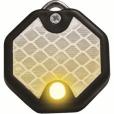 Imarc - светлоотразителен медальон, светещ в три режима, с възможност за гравиране - H151211