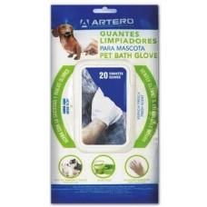 ARTERO CLEANER TOWEL - GLOVE - мокри ръкавици за почистване на тяло - 20 бр, Испания - H692