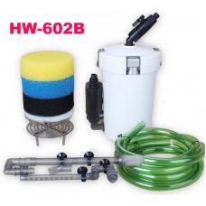 Външен филтър (канистер) за аквариум с дебит 400 литра за час 6W HW-602B