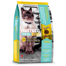 I19 Nutram Ideal Solution Support Sensitive Skin, Coat and Stomach Natural Cat Food 6.8 кг