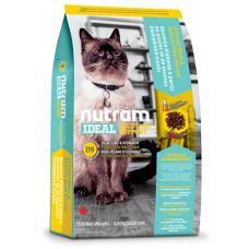 I19 Nutram Ideal Solution Support Sensitive Skin, Coat and Stomach Natural Cat Food, Рецепта с Пиле, Сьомга и цели Яйца, За котки с чувствителни стомаси или проблемна кожа и козина от 1 до 10 години, Канада - 1.8 кг
