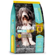 I20 Nutram Ideal Solution Support® Sensitive Skin, Coat & Stomach Natural Dog Food За кучета с чувствителен стомах, за лечение и профилактика на кожни проблеми За кучета от 1 до 10 години, Канада - 13.6 кг
