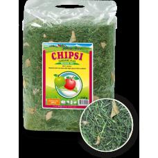 JRS Chipsi Sunshine Apple - сено с ябълки от най-високо качество, с забележителен аромат и вкус за гризачи и малки животни - 750 гр
