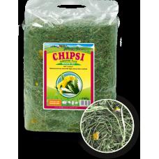 JRS Chipsi Sunshine Dandelion - сено с глухарче от най-високо качество, с забележителен аромат и вкус за гризачи и малки животни - 750 гр