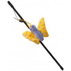 Играчка за котка Въдица Gloria Fishing Rod Plush Toy D - въдица с плюшена играчка 41 см, Испания - JU00428D