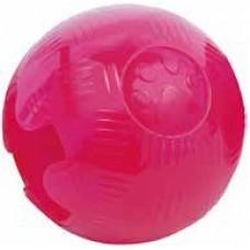 Гумени играчки Gloria TRP Ball Розова - топка, за лакомства, плуваща - 5,7 см, Испания - JU00500