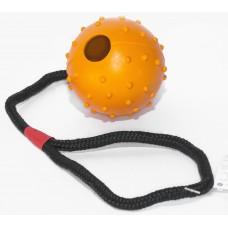 Gloria Ball - гумена топка с въже, 5х30 см, Испания - JU00700