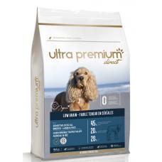 Ultra Premium Direct Adult sensitive all breeds lamb rice - суха храна за пораснали чувствителни кучета, агнешко с ориз, с ниско съдържание на зърно, 45% месо и месни съставки, 4 кг, Франция LG0408