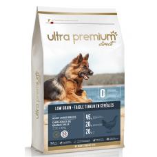 Ultra Premium Direct Adult large breeds - суха храна за пораснали кучета от едри породи, с ниско съдържание на зърно, 45% месо и месни съставки, пилешко месо, 12 кг, Франция LG1205