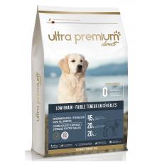 Ultra Premium Direct Overweighted - sterilised dogs all breeds - суха храна за кучета с наднормено тегло и или кастрирани, с ниско съдържание на зърно, 45% месо и месни съставки, агне и прасе, 12 кг, Франция LG1209