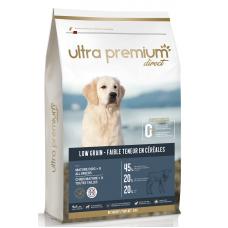 Ultra Premium Direct Mature dogs all breeds - суха храна за възрастни кучета, над 8 години, от всички породи, с ниско съдържание на зърно, минимум 45% месо и месни съставки, агне и прасе, 12 кг, Франция LG1210