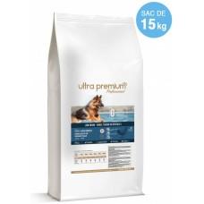 Ultra Premium Direct Adult sensitive all breeds lamb rice - суха храна за пораснали чувствителни кучета, агнешко с ориз, с ниско съдържание на зърно, 45% месо и месни съставки, 15 кг - Франция, LG1508