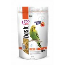LOLO PETS Пълноценна храна за вълнисти папагали с плодове 600 гр LO-70215
