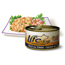 Life Natural Lifedog Chicken with Tuna - с пилешко месо и риба тон 170 грама