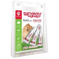Mr.Bruno Spot-on - натурални, противопаразитни капки за кученца и кучета от дребни породи - 3 х 1 мл, Русия, MB05-00920