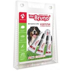 Mr.Bruno Spot-on - натурални, противопаразитни капки за кученца и кучета от едри породи - 3 х 2,5 мл, Русия, MB05-00940