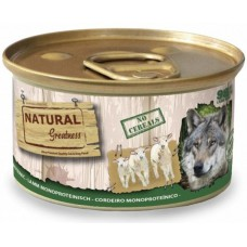 NATURAL Greatness Lamb Monoproteinic recipe - Монопротеин Агне (за чувствителни стомаси), 170гр, Испания