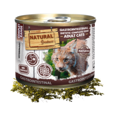 NATURAL Greatness VET Gastrointestinal - консерва за коте, за балансирано храносмилане, 200 гр - Испания