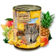 NATURAL Greatness Kangaroo with Pineapple, Mango & Spirulina - Кенгуру с ананас, манго и спирулина - Хипоалергенна храна, без зърнени култури, 400 гр, Испания