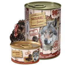 NATURAL Greatness Turkey Monoproteinic Recipe - Монопротеин Пуйка (за чувствителни стомаси), 400 гр, Испания