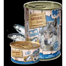 NATURAL Greatness Salmon Monoproteinic Recipe - Монопротеин Сьомга (за чувствителни стомаси), 400 гр, Испания