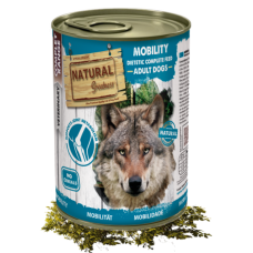 NATURAL Greatness VET MOBILITY - консерва за куче за предотвратяване и облекчаване на проблеми със ставите, 400 гр - Испания