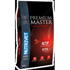 Nutrivet Premium Master ACTIF - храна за пораснали кучета, над 1 година, от всички породи, Франция - 15 кг