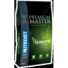 Nutrivet Premium Master Silhouette - LIGHT - храна за възрастни кучета и такива с наднормено тегло, от всички породи, Франция - 15 кг