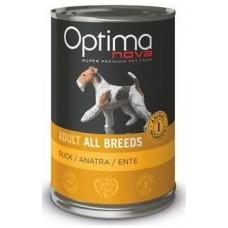Optima Nova Adult Duck Potato - консерва за кучета от всички породи БЕЗ ЗЪРНО - 400 гр Испания