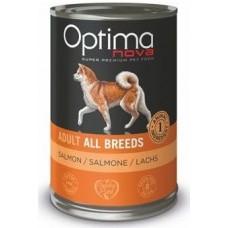 Optima Nova Adult Salmon Potato - консерва за кучета от всички породи БЕЗ ЗЪРНО - 400 гр Испания