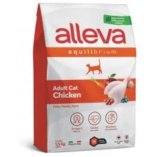ALLEVA® Equilibrium Chicken Adult - пълноценна храна за пораснали котки, с пилешко месо, Италия - 1,5 кг P61004