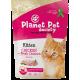 Planet Pet Society Kitten Fresh Chicken - пълноценна храна с пилешко месо, за подрастващи котенца от 1 до 12 месеца, Без захар, пшеница или соя, Финландия - 1,5 кг, 40452