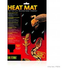 Exo Terra HEAT MAT TERRARIUM SUBSTRATE HEATER - нагревателно килимче, 20х20 см - 8W - ГЕРМАНИЯ - PT2016