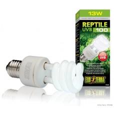 Exo Terra Лампа за терариум Reptile UVB 100/ Repti Glo 5.0 13w - PT 2186