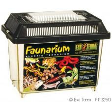 Exo Terra FAUNARIUM / ALL-PURPOSE TERRARIUM - пластмасов универсален терариум за влечуги, земноводни, мишки и паякообразни и насекоми, 18 x 11 x 12,5 см, GERMANY - PT2250