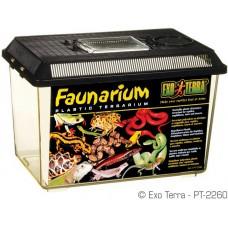 Exo Terra FAUNARIUM / ALL-PURPOSE TERRARIUM - пластмасов универсален терариум за влечуги, земноводни, мишки, паякообразни и насекоми, 30 x 19,5 x 20,5 см, ГЕРМАНИЯ - PT2260