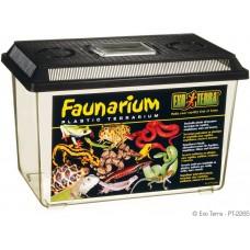 Exo Terra FAUNARIUM / ALL-PURPOSE TERRARIUM - пластмасов универсален терариум за влечуги, земноводни, мишки, паякообразни и насекоми, 37 x 22 x 25 см, ГЕРМАНИЯ - PT2265