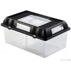 Exo Terra BREEDING BOX / STACKABLE BREEDING TERRARIUM - Medium - пластмасов универсален терариум за развъждане или изложби, 30,2 x 19,6 x 14,7 см, ГЕРМАНИЯ - PT2275