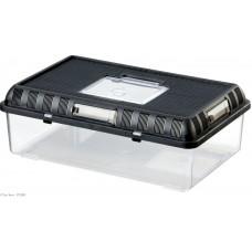 Exo Terra BREEDING BOX / STACKABLE BREEDING TERRARIUM - Large - пластмасов универсален терариум за развъждане или изложби, 41,5 x 26,5 x 14,8 см, ГЕРМАНИЯ - PT2280