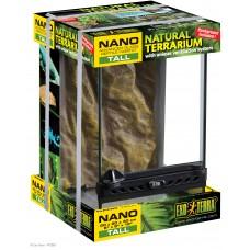 Exo Terra NATURAL TERRARIUM NANO TALL / ADVANCED REPTILE HABITAT 20 x 20 x 30 cm - терариум - ГЕРМАНИЯ - PT2601
