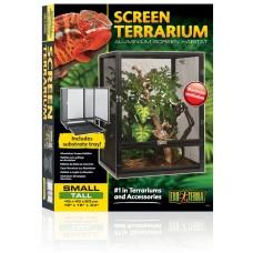 Exo Terra ALUMINUM SCREEN TERRARIUM - Small-Tall 45 x 45 x 60 cm - стъклен терариум - ГЕРМАНИЯ - PT2676