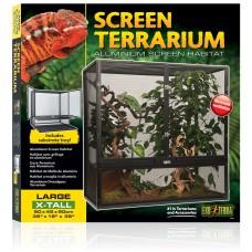 Exo Terra ALUMINUM SCREEN TERRARIUM - Large-X-Tall 90 x 45 x 90 cm - стъклен терариум - ГЕРМАНИЯ - PT2679