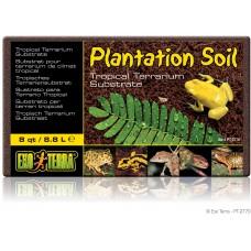 Exo Terra PLANTATION SOIL - BRICK / TROPICAL TERRARIUM SUBSTRATE - кокосова постелка - 8,8 литра, ГЕРМАНИЯ - PT2770