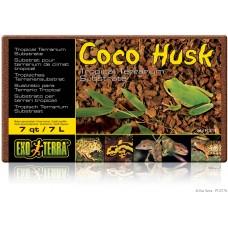 Exo Terra COCO HUSK (BRICK) TROPICAL TERRARIUM SUBSTRATE - коксови люспи, постелка за терариум - 7 литра, ГЕРМАНИЯ - PT2775