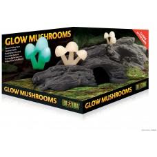 Exo Terra GLOW MUSHROOMS NATURAL HIDE OUT, скривалище и декорация - ГЕРМАНИЯ - PT2843